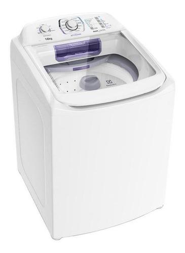 Lavadora Branca Com Dispenser Ciclo Silencioso Lac16