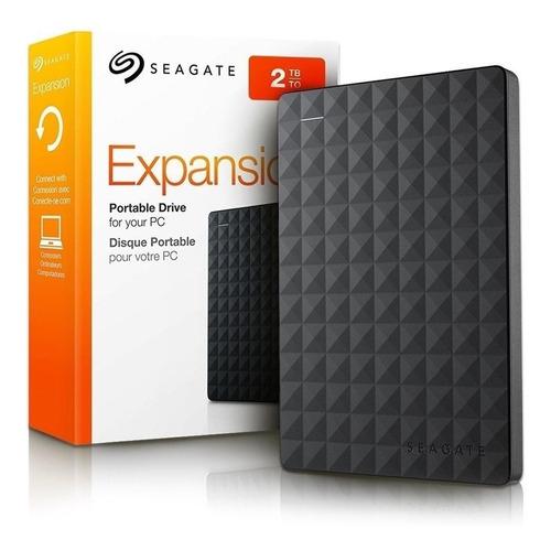 Hd Seagate Externo  Expansion Stea2000400 2tb Preto Ofeta