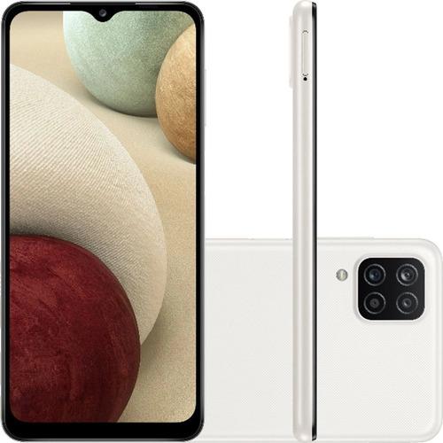 Celular Samsung Galaxy A12 A125 Dual 64gb 4gb Ram Branco