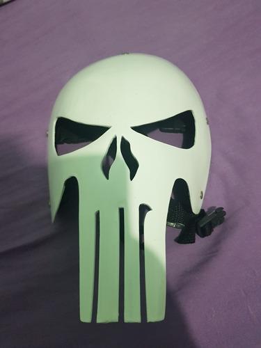 Máscara O Justiceiro The Punisher Fibra De Vidro - Original