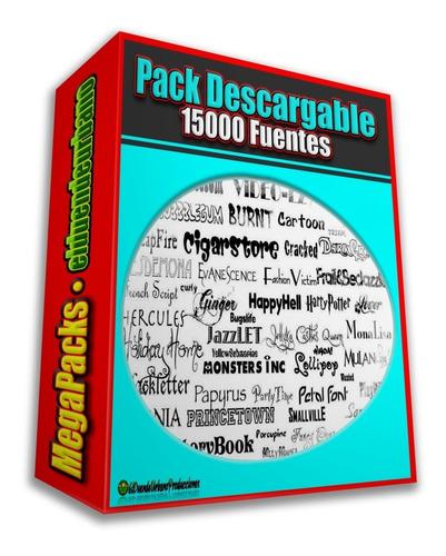 Pack Descargable » 15.000 Fuentes » Tipografias Para Pc