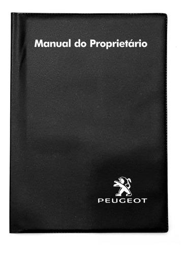Capa Porta Manual Proprietário Peugeot Pvc