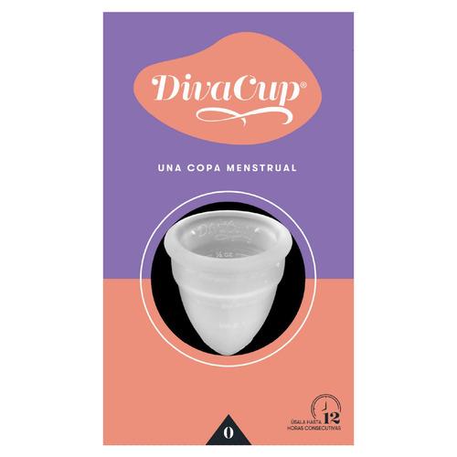 Copa Menstrual Diva Cup 0 Blanca