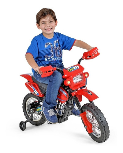 Mini Motinha Infantil Elétrica - Mini Moto Cross P/ Crianças