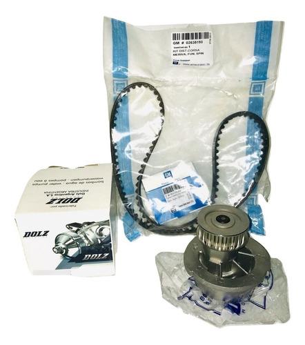 Kit Distrib Original Corsa Celta Agile 1.4 1.6 + B/agua Dolz
