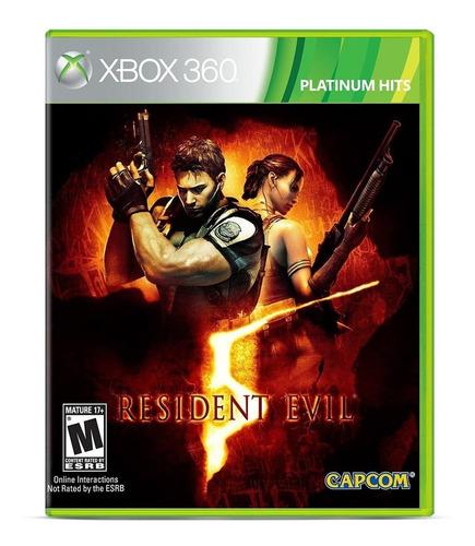 Resident Evil 5 Standard Edition Capcom Xbox 360 Físico
