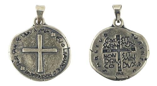 Medalha Das Duas Cruzes São Bento  Original
