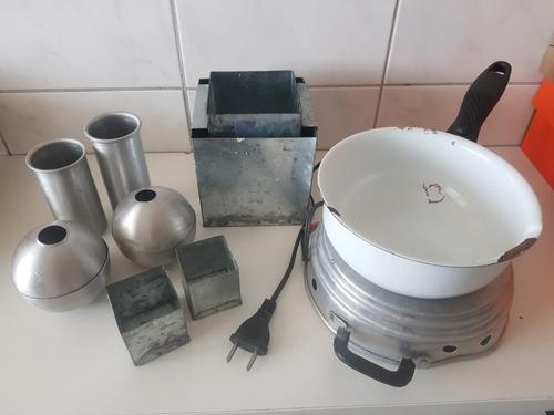 Kit Para Produção De Velas Artesanais