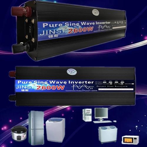 Inversor Senoidal Pura 1300 Watts 12v/220v Liga Geladeira