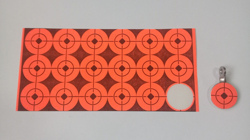 Target Diana Blanco Adhesivo Pcp 2,5cm 36und