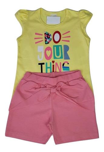 Roupa Infantil Kit 8 Conjuntos Feminino Menina Barato