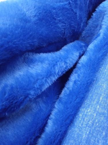 Tecido Pelúcia Azul Automotivo (1, 60 M De Largura)