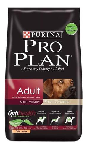 Alimento Pro Plan Optihealth Adult Para Perro Adulto De Raza Grande Sabor Pollo/arroz En Bolsa De 15kg