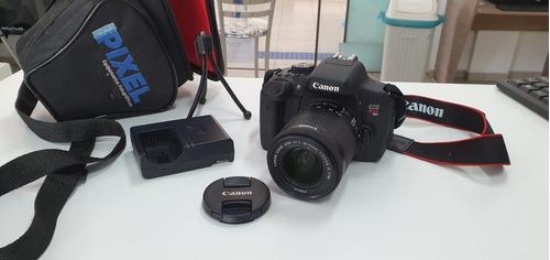 Câmera Canon T6i Brinde Placa Captura Hdmi