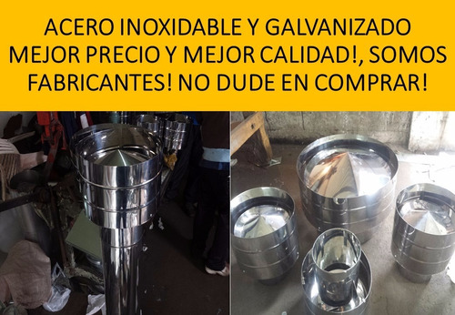 Sombrero Quematutti, Salamandra(acero,galvanizado,aluminizad