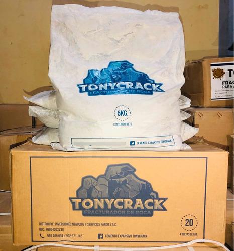 Cemento Expansivo De Alta Calidad Tonycrack