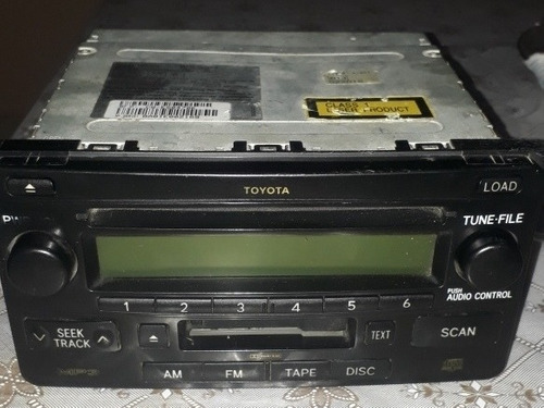 Radio Original Toyota Hilux 86120