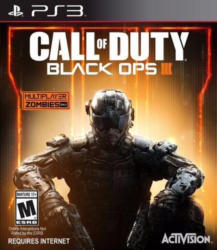 Call Of Duty Bo 3 (requiere Internet) Juego Digital Ps3