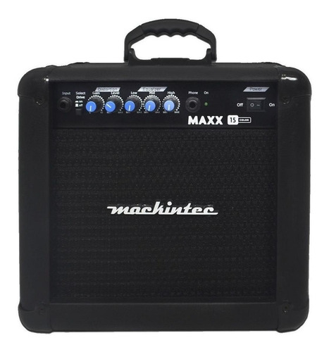 Caixa Amplificador Cubo Mackintec Maxx 15  Preto 110v/220v