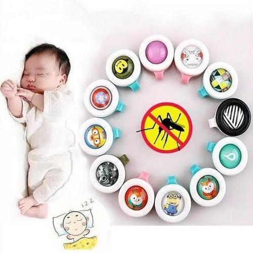 Broche Repelente Para Bebe Broche Infantil Luxo