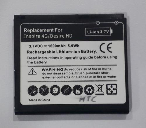Bateria Pila Htc Inspire 4g Desire Hd A9191 A9192