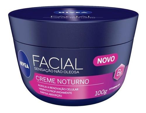 Creme Facial Hidratante Nivea Noturno 100g