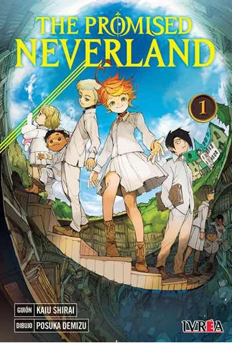 Manga The Promised Neverland Tomo 01 - Argentina