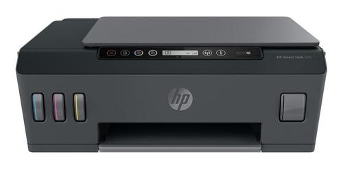 Impresora A Color Multifunción Hp Smart Tank 515 Con Wifi Negra 100v/240v
