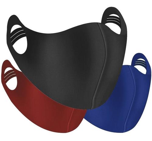 100 Mascara Tecido Lavável Reutilizável Confortável Esporte