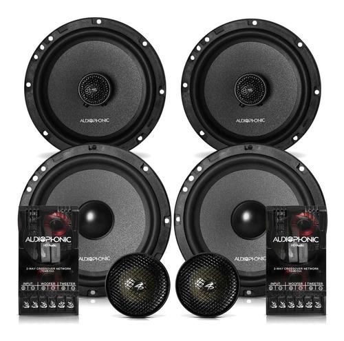 Combo Kit 2 Vias Audiophonic Kc6.3 + Coaxial Cb 650v3 Hi End
