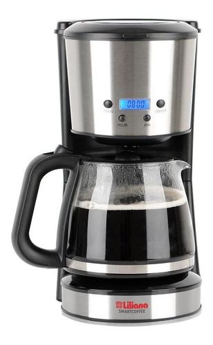 Cafetera Liliana Smartcoffee Ac955 Automática Acero Inoxidable Y Negra De Filtro 220v