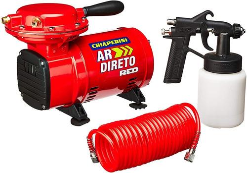 Motocompressor Ar Direto 40 Lbf C/kit 20328 Red Chiaperini