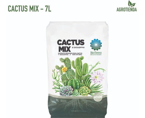 Cactus Mix - Sustrato Orgánico Bioterra