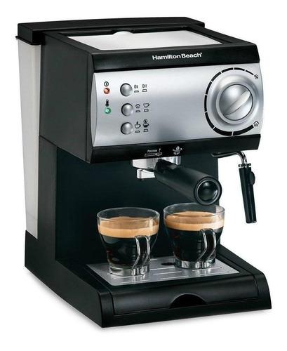 Cafetera Hamilton Beach 40715 Automática Negra Expreso 120v