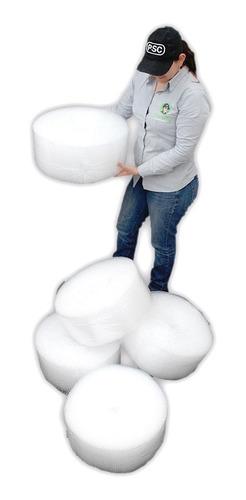 Rollo Plástico Burbuja 20 Cm Por 50 M Por Cinco (5) Unidades