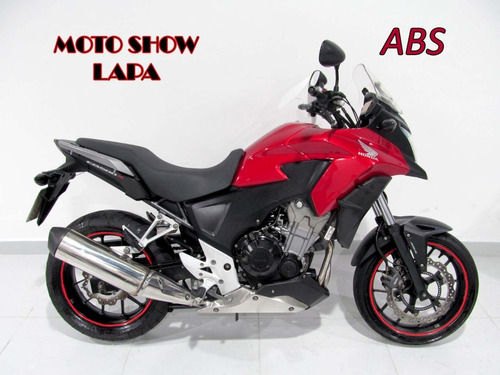 Honda Cb 500x Abs 2015 Vermelha