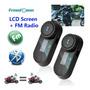 Intercom Capacete Moto Tcom sc Am fm Bluetooth 2 Unidades