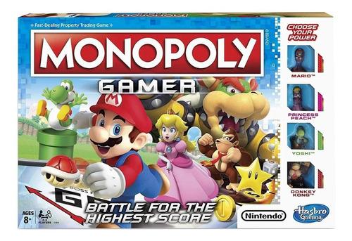 Juego De Mesa Monopoly Gamer Hasbro