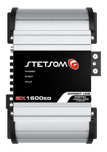 Módulo Amplificador Ex1600 Eq 2 Ohms 1600w Mono 1 Canal