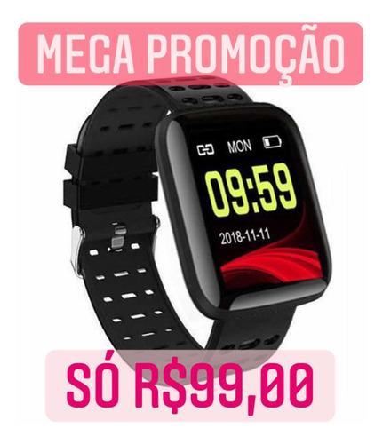 Smartband Smartwatch Y68 Mede Pressão Batimentos Completo