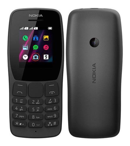 Celular Nokia 110 Preto- Nk006 Rádio Fm Leitor Mp3 Promocao