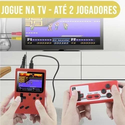 Vídeo Game Portátil Com 400 Jogos
