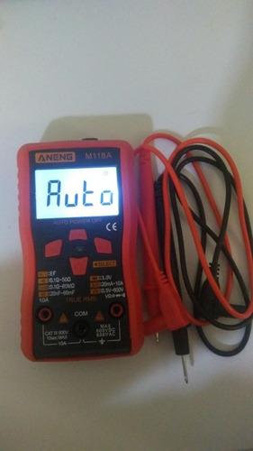 Aneng M118a Auto Ranging Multímetro Digital De Alta Precisão