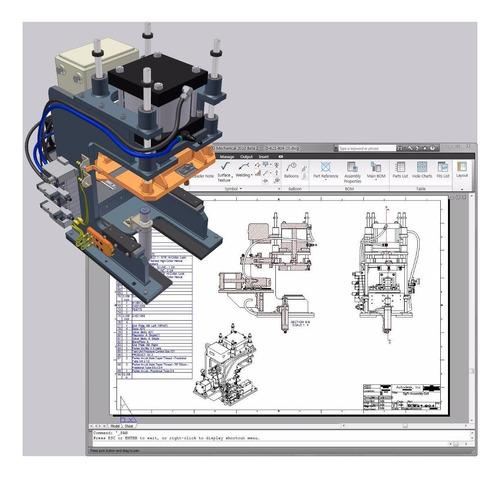 Planos Mecanica - Proyectista -  Dibujo Cad 2d Y 3d