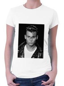 Camiseta Johnny Depp Jovem - Cry Baby Original