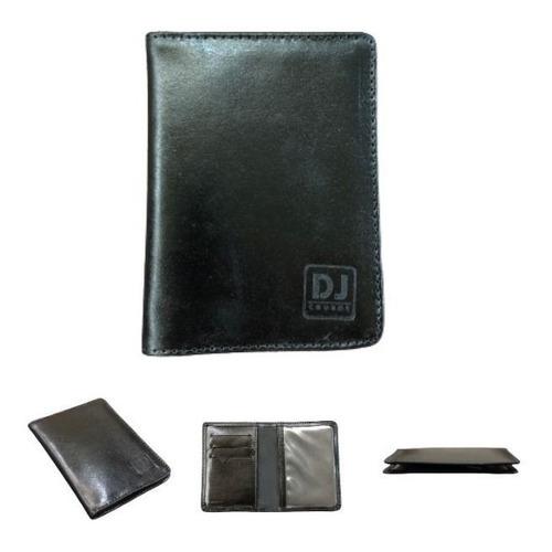 Carteira Porta Documentos Fina Couro Cnh Rg Dinheiro Cartões Original