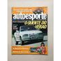 Revista Auto Esporte 307 Escort Xr3 Conversível Volvo 656c