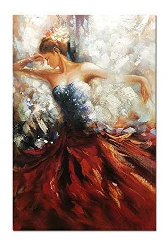 Boiee Art Lienzo Pintado A Mano Con Pintura Al Oleo Abstract