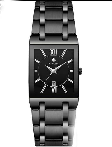 Relógio Masculino Original Bwwoor 8858 Ultrafino Luxuoso