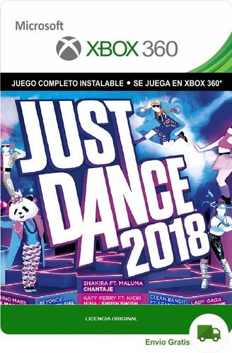 Just Dance 2018 Xbox 360 Original Digital